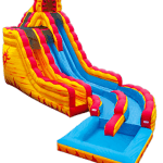 Fire and Ice Waterslide Rental Fort Lauderdale