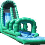 Green Lightning Water Slide Rental Fort Lauderdale