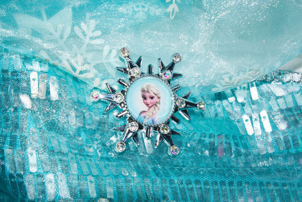 Frozen Themed Inflatable Palm Beach