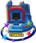 Combo Bounce House Water Slide Party Rentals