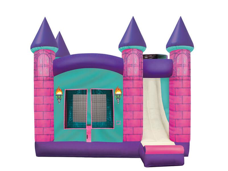 17' 4-in-1 Queen Castle Combo