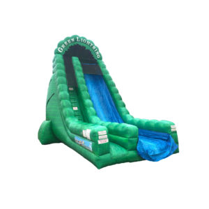 27' Green Lightning Dry Slide