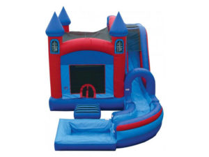 18' Jump & Splash Castle Combo
