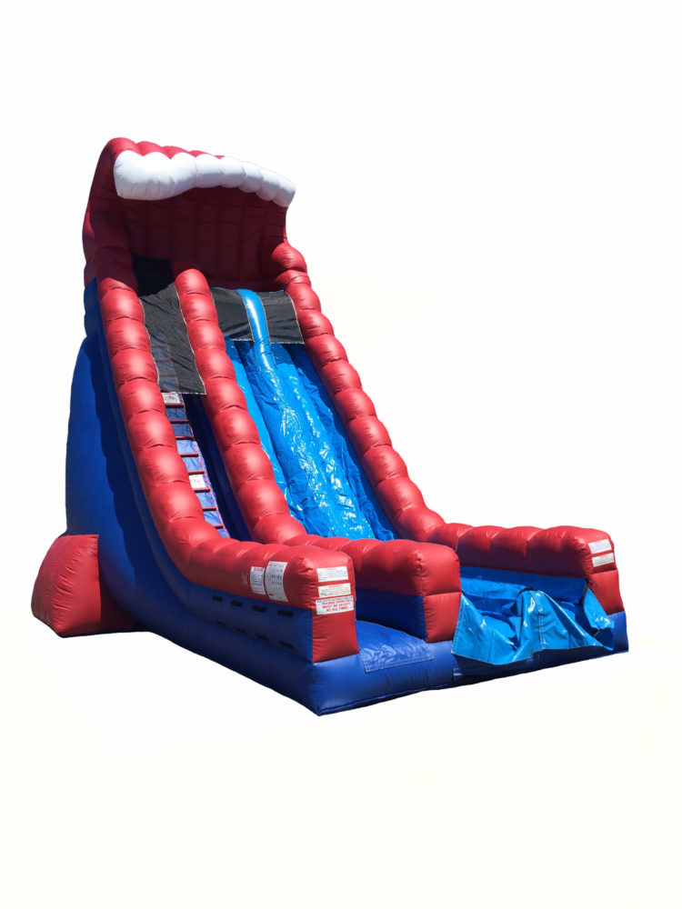 30' Red, White and Blue Crush Dry Slide