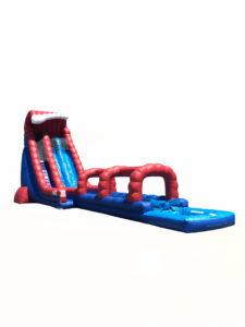 30' Red, White and Blue Crush Slip 'N Slide